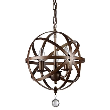 Warehouse of Tiffany Riza 3-Light Candle-Style Chandelier