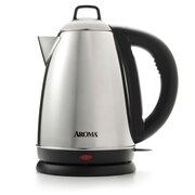 Aroma 1.5 Liter Stainless Steel Electric Tea Kettle