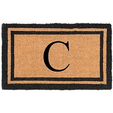 Nance Industries YourOwn Monogrammed Welcome Doormat; C