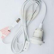 ThePaperLanternStore Single Socket Pendant Light Cord Kit; 132'' H x 2.5'' W x 2.5'' D