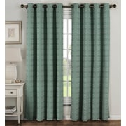 Window Elements Curtain Panels (Set of 2); Teal