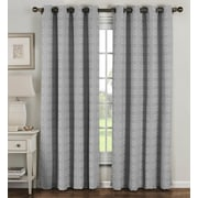 Window Elements Curtain Panels (Set of 2); Gray