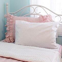 Beddys Vintage Blush Comforter Set; Twin