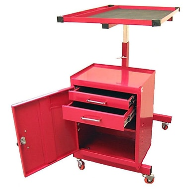 Excel Adjustable Metal Tool AV Cart