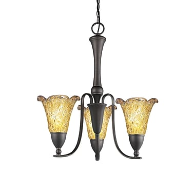 Woodbridge Kingston 3-Light Shaded Chandelier