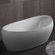AKDY 68.5'' x 32.67'' Soaking Bathtub