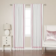 Best Home Fashion, Inc. Blackout Thermal Curtain Panels (Set of 2); Pink