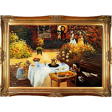 Tori Home The Luncheon by Claude Monet Framed Painting