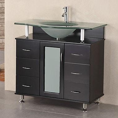 Home Loft Concepts Mateo 36'' Single Bathroom Vanity Set