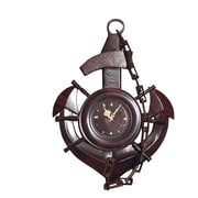 D-Art Collection Sea Anchor and Chain Clock
