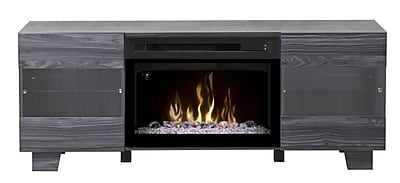 Dimplex Max TV Stand w/ Fireplace; Acrylic Ice