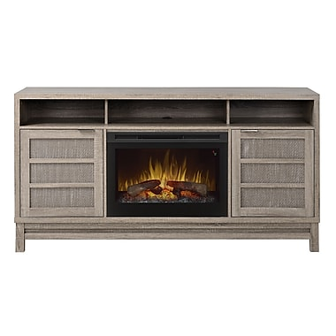 Dimplex Layla TV Stand with Electric Fireplace; Realogs