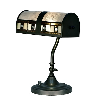 Dale Tiffany Louise Desk 14'' Table Lamp
