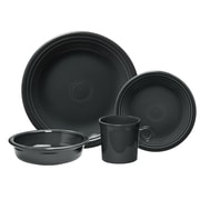 Fiesta 4 Piece Place Setting Set, Service for 1; Slate