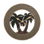 Ashton Sutton 13.5'' Palm Tree Wall Clock