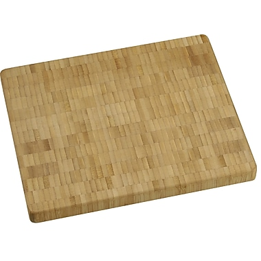 Vance Industries Bamboo End-Grain Chopping Block