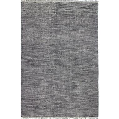 Bashian Rugs Artifact Hand-Knotted Grey Area Rug; 5' x 7'6''