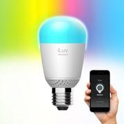 iLuv – Ampoule multicolore DEL intelligente Rainbow8 Wi-Fi (RBW8WHKUL)