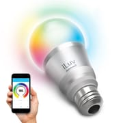 iLuv – Ampoule multicolore DEL intelligente Rainbow7 Bluetooth avec variateur (RAINBOW7UL)