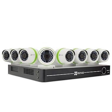 EZVIZ BD-1828B1 8 Channel 1TB DVR with 8 1080P Cameras