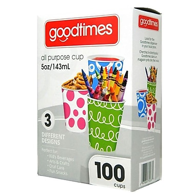 Goodtimes All Purpose Paper Cup, 5oz, 100/Pack