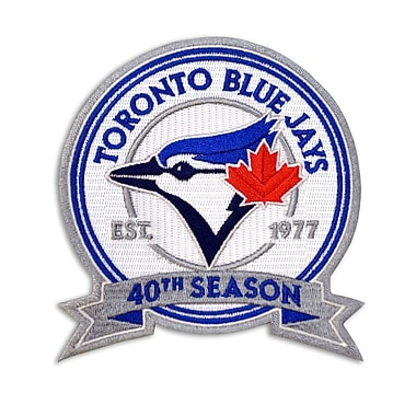 The Emblem Source Toronto Blue Jays 40th Season Logo Patch (0090-13)