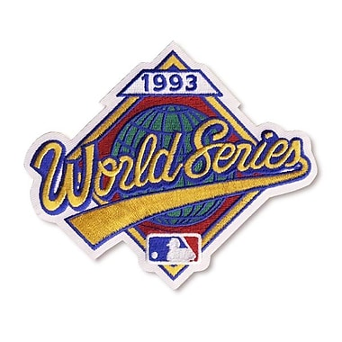 The Emblem Source – Écusson du logo de la Série mondiale MLB de 1993 (0090-11)