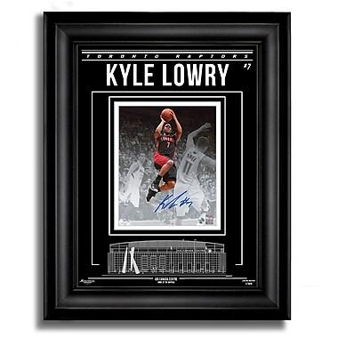 Daniel Parry International Inc. Kyle Lowry Toronto Raptors Signed 8x10 Photo Archival Etched Glass™, Ltd/99 (200-56)