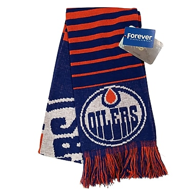 KDI Big Logo Scarf, Edmonton Oilers (0657-05)
