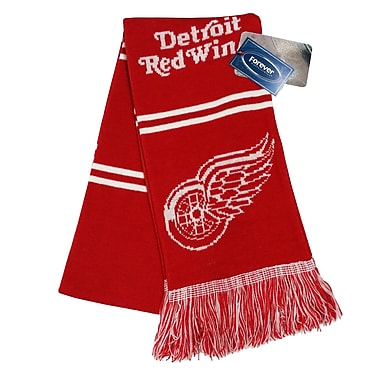 KDI NHL Stripe Scarf, Detroit Red Wings (0766-1)