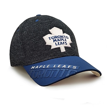 Reebok – Casquette des séries éliminatoires de la LNH des Maple Leafs de Toronto, collection Center Ice, TG/TTG (0835-03XXL)