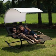 Vivere Hammocks Double Chaise Lounge; Sienna
