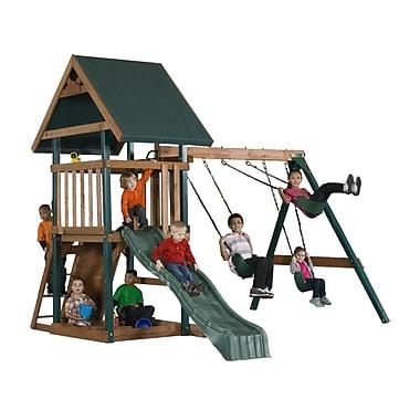 Backyard Play Systems Mongoose Manor Swing Set