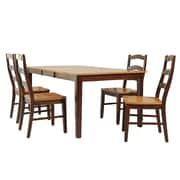 TTPFurnish Stettler 5 Piece Dining Set