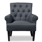 Wholesale Interiors Baxton Studio Armchair; Gray