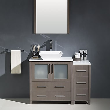Fresca Torino 42'' Single Modern Bathroom Vanity Set w/ Mirror