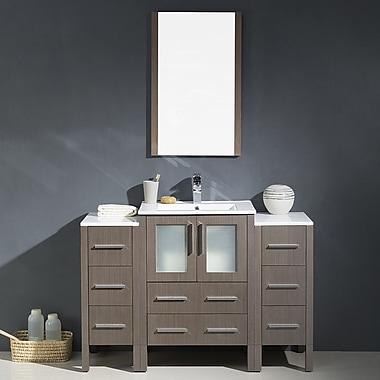 Fresca Torino 48'' Single Modern Bathroom Vanity Set w/ Mirror