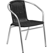 Flash Furniture Rattan Indoor-Outdoor Restaurant Stack Chair