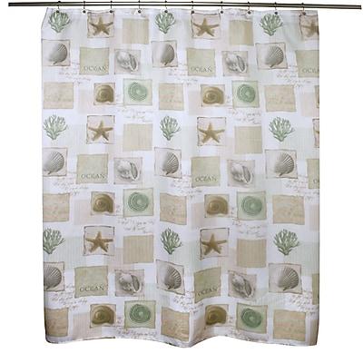 Famous Home Fashions Coastal Shower Curtain