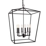Norwell Lighting Cage 6-Light Foyer Pendant