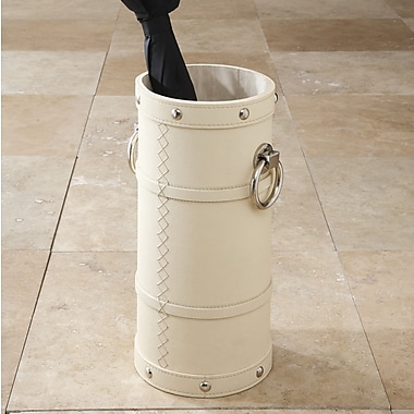 Global Views Ring Umbrella Stand; Ivory