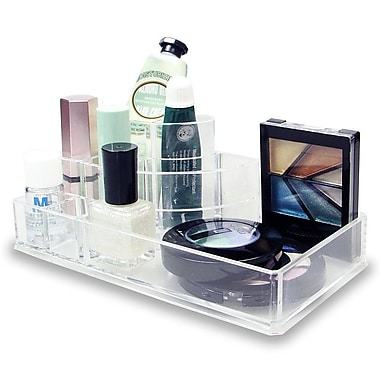 Sweet Home Collection Sleek 3 Step 8 Compartment Cosmetic Organizer