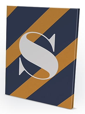 Gillham Studios 'Diagonal' Graphic Art on Wrapped Canvas; S