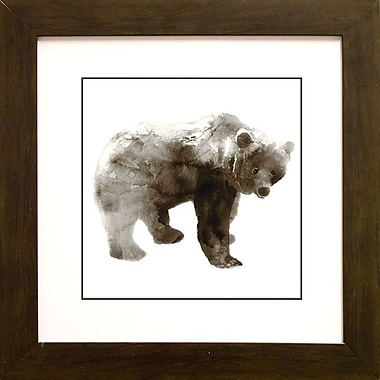 Star Creations Bear by Edward Selkirk Framed Painting Print