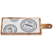 Red Vanilla Paddle Cheese Serving Tray
