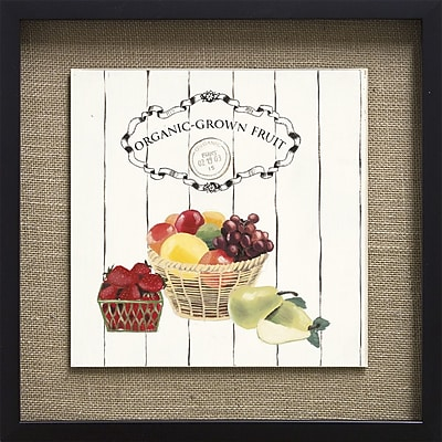 Star Creations Gone to Market Organic Grown Fruit by Marco Fabiano Framed Painting Print