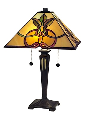 Dale Tiffany Lihue Mission 21'' Table Lamp