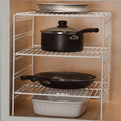 Panacea Products 18'' Triple Helper Shelf