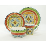 222 Fifth New Dehli 16 Piece Dinnerware Set