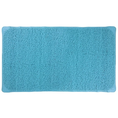 Splash Home Louffa Bath Mat; Aqua